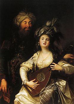 Султан Сулейман и Хуррем султан