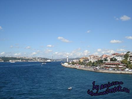 Стамбул со смотровой площадки Девичьей башни