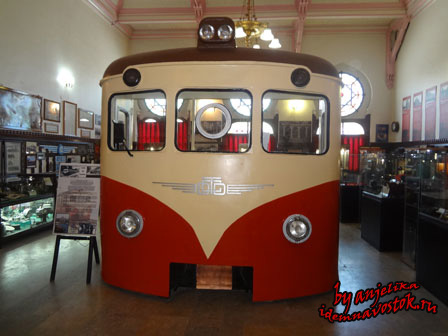 Стамбульский железнодорожный музей
