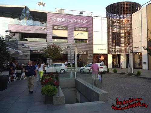 Магазин и кафе Armani İstinye park