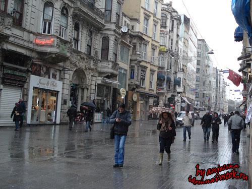 Погода в Стамбуле в марте