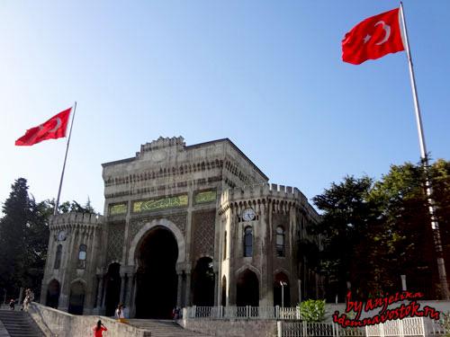 Ворота Стамбульского университета