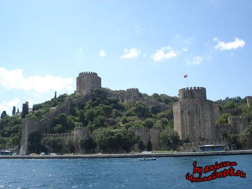 Сарыер крепость Румели Хисары