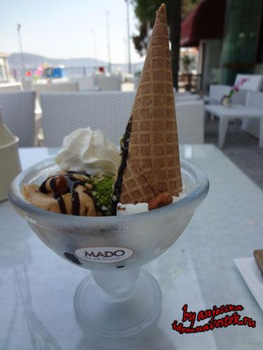 Mado - мороженое в Стамбуле
