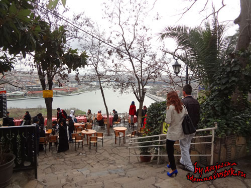 Кафе Пьер Лоти Стамбул