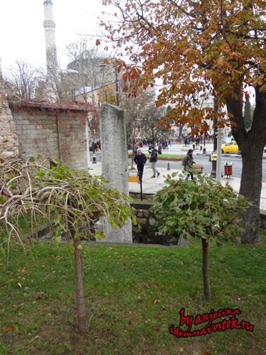 Нулевая миля в Константинополе (Стамбуле)