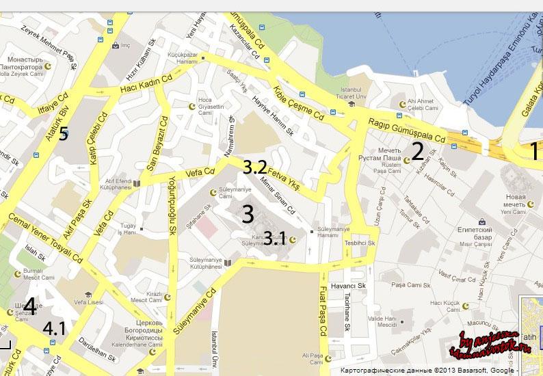 Однодневный маршрут по следам Великолепного века в Стамбуле