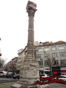 Колонна Марциана (Девичий камень в Стамбуле)