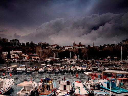 Погода в Анталии в ноябре