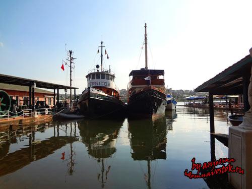 Индустриальный музей Рахми Коча в Стамбуле