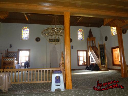 В мечети Дайе хатун